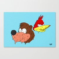 banjo Canvas Prints featuring Banjo by Nate Galbraith