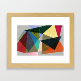 an oblique approach is always best... Framed Art Print