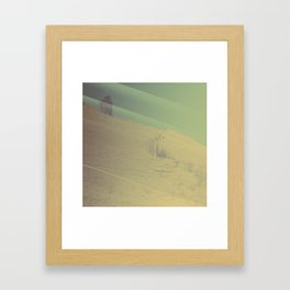 Hill Storm Framed Art Print