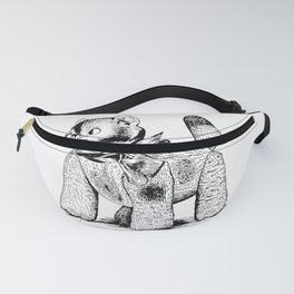 Toy Cat Patent Fanny Pack
