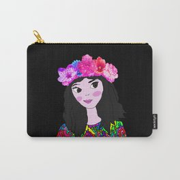 Spring in the Heart of Winter | Kids Painting Carry-All Pouch