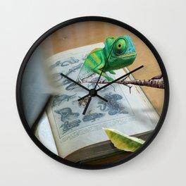Reptile chameleon Wall Clock