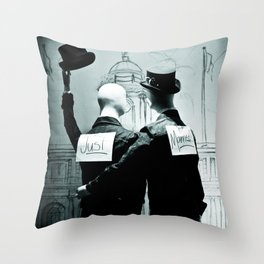 Legalize x Just Married! Throw Pillow
