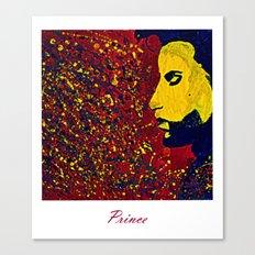Prince Portrait Canvas Print