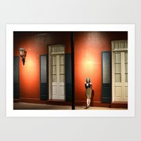 Red Wall Art Print