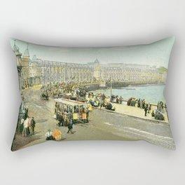Victorian Douglas Isle of Man Loch Promenade Rectangular Pillow