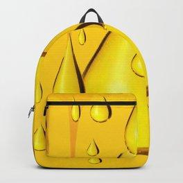 RICH GOLDEN HONEY DRIPPING ART Backpack