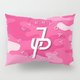 Jake Paul Pink Camo Pillow Sham