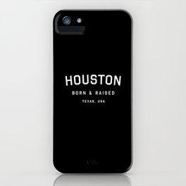 Houston - TX, USA (Arc) iPhone Case