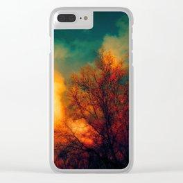 Violent Autumn #1 Clear iPhone Case
