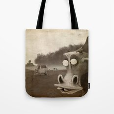 a morning without sun Tote Bag