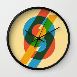 six to nine Wall Clock