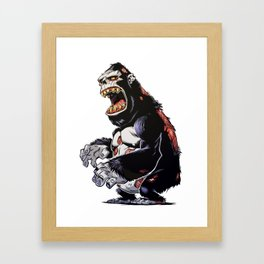 ZomBape Framed Art Print