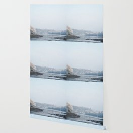 Frozen landscape Wallpaper