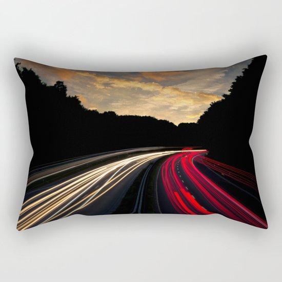 Highway to Adventure Rectangular Pillow