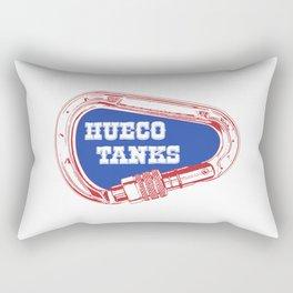 Hueco Tanks Carabiner Rectangular Pillow