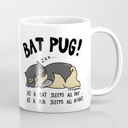 Bat Pug! Coffee Mug