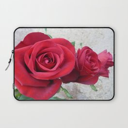 Three Red Roses Laptop Sleeve