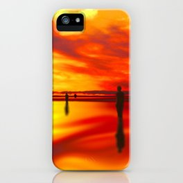 Reflections of Sunset iPhone Case