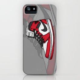 Jordan1-OG Chicago iPhone Case