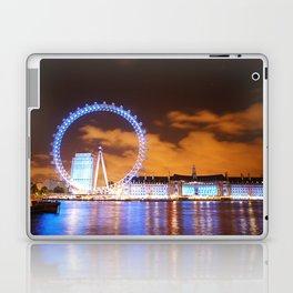 London Midnight Eye Laptop & iPad Skin