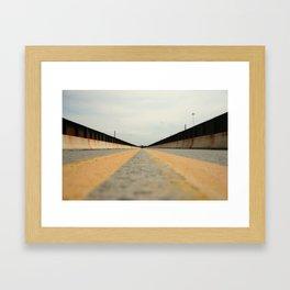 Closed Bridge Framed Art Print