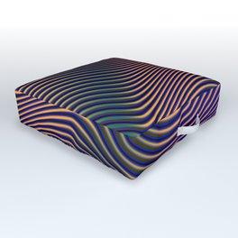 Fancy Curves II Outdoor Floor Cushion