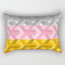 Goyard Rainbow Rectangular Pillow