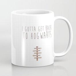 Back to Hogwarts Coffee Mug