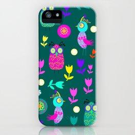 Birds № 7 iPhone Case
