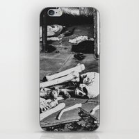 death iPhone & iPod Skins featuring Death by Sarah Van Neyghem