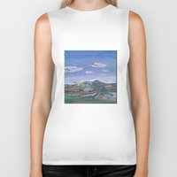 country Biker Tanks featuring Country by Thomas Madden