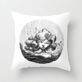 Lacrymosa Throw Pillow