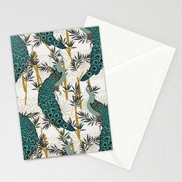 VELVET PEACOCK Stationery Cards