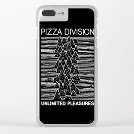 Pizza Division Clear iPhone Case