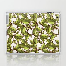 Fresh summer leaves Laptop & iPad Skin