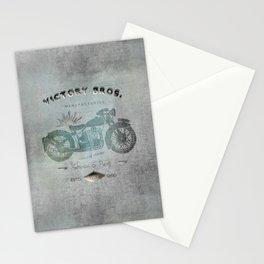 Motorbike Vintage Grunge Poster Stationery Cards