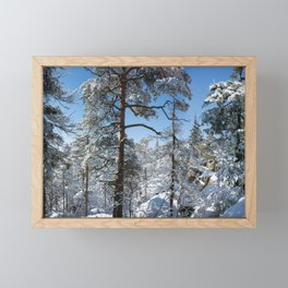 Winter in March Framed Mini Art Print