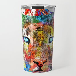 Puma Watercolor Grunge Travel Mug