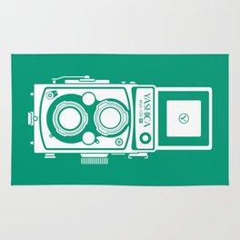 Yashica Mat 124G Camera Emerald Rug