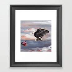 Hitchhiker's Guide to the Galaxy -  Against All Probability Framed Art Print