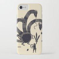 hydra iPhone & iPod Cases featuring hydra(dark) by Louis Roskosch