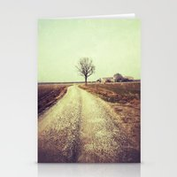 country Stationery Cards featuring Country by Jessica Morelli
