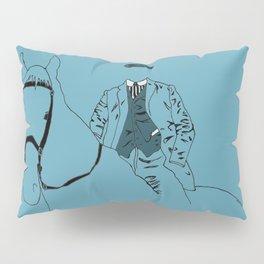 Horse and Fashion Bleu Pillow Sham