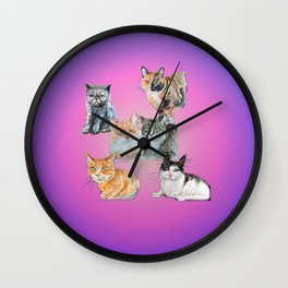 Rasmuss and friends Wall Clock