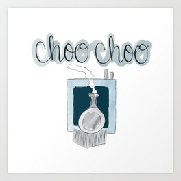 Choo Choo Train Art Print
