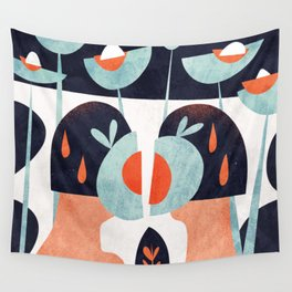 Amapola twins Wall Tapestry