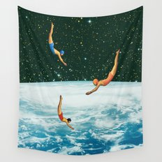 Space jumps Wall Tapestry