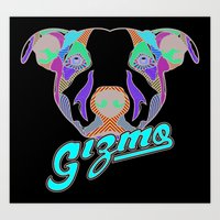 gizmo Art Prints featuring Gizmo by Gizmo