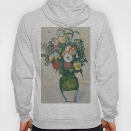 """Paul Cezanne """"Flowers in a green vase"""" Hoody"""